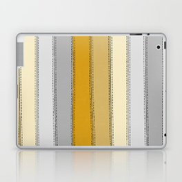 Yellow Lines Laptop & iPad Skin