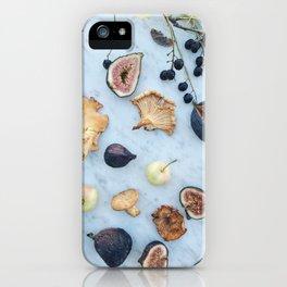 Fig & Chanterelle II iPhone Case