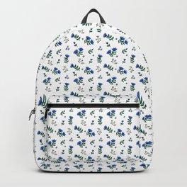 Floral blues Backpack