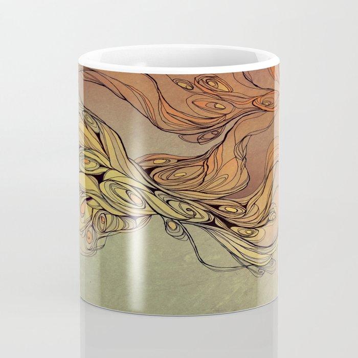 abstract floral composition 2 Coffee Mug