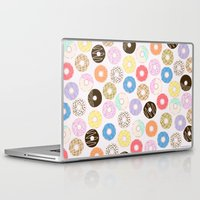 nutella Laptop & iPad Skins featuring Donuts by Alexandra Aguilar
