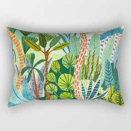 Malaysian Jungles Rectangular Pillow