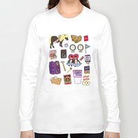 parks Long Sleeve T-shirts featuring Parks & Recreation  by Shanti Draws