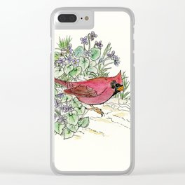 Illinois Clear iPhone Case