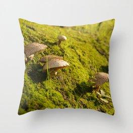 Nature life Throw Pillow