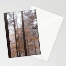 Organge mystery woods Stationery Cards