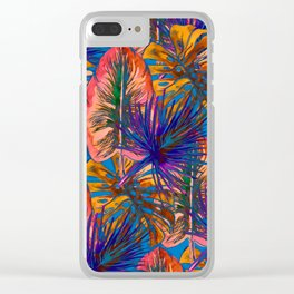 My Tropical Garden 8 Clear iPhone Case