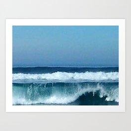 Pacific Wave Art Print