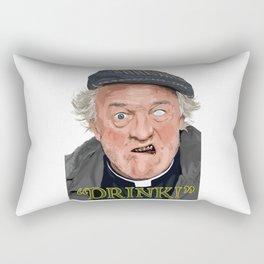 """Drink!"" Rectangular Pillow"