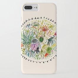 Succulents Mandala iPhone Case