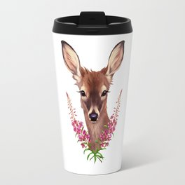 Fireweed Deer Travel Mug