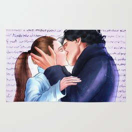 Sherlolly kiss Rug