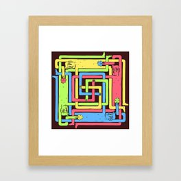 Nothing to See Here 2 Framed Art Print