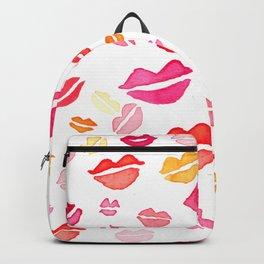 Valentines kisses Backpack