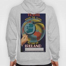 Vintage Travel Poster - Ireland Hoody