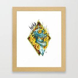 War Horseman Framed Art Print