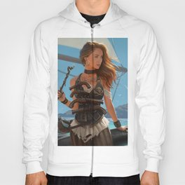 Franceska Drake the black powder pirate Hoody