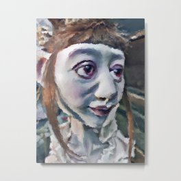Fae Doll Metal Print