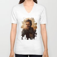 mad max V-neck T-shirts featuring Max by nlmda