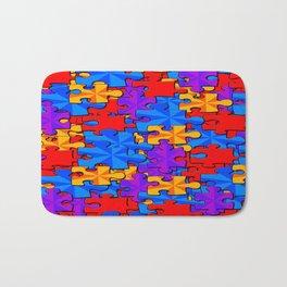 Puzzle Time Bath Mat
