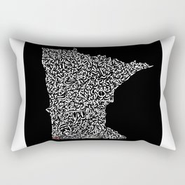 State Secrets - Minnesota Rectangular Pillow