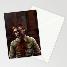 Zombie Teacher Stationery Cards