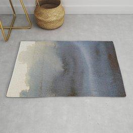 Oil Slick Abstract Art Rug