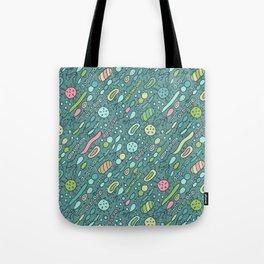 Microbes Tote Bag