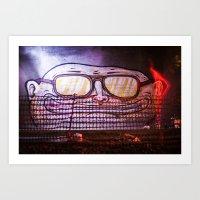 Art Print featuring F&G by GautCheezzz
