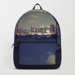 San Diego by Night - Oil Backpack