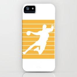 Kreisliga Handball Keeper Third Second Showers iPhone Case