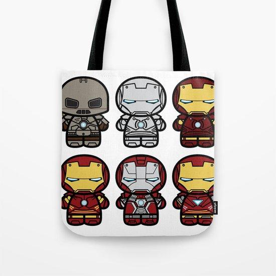 Chibi-Fi Iron Man Movie Armory Tote Bag
