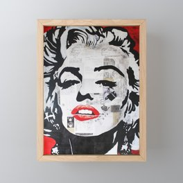 Marilyn «Fascination» Framed Mini Art Print