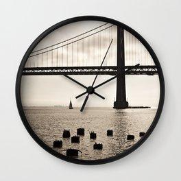 San Francisco, Bay Bridge Wall Clock