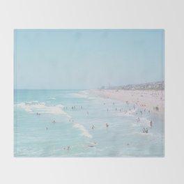 Huntington Beach Throw Blanket