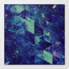 Abstract Geometric Background #20 Canvas Print