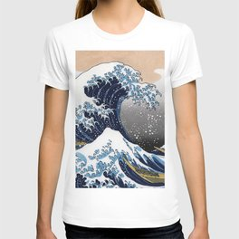 "Hokusai , "" The Great Wave off Kanagawa "" T-shirt"