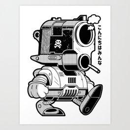 Smoking gun (45 Cal.) Art Print