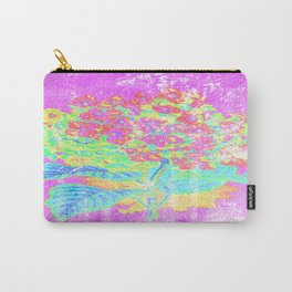 Distressed Hydrangea {pink} Carry-All Pouch