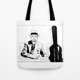 Leonard Cohen Tote Bag