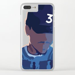 Coloring Book - Chance the Rapper Clear iPhone Case