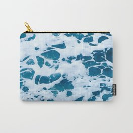 oscean marble - photograohy light blue Carry-All Pouch