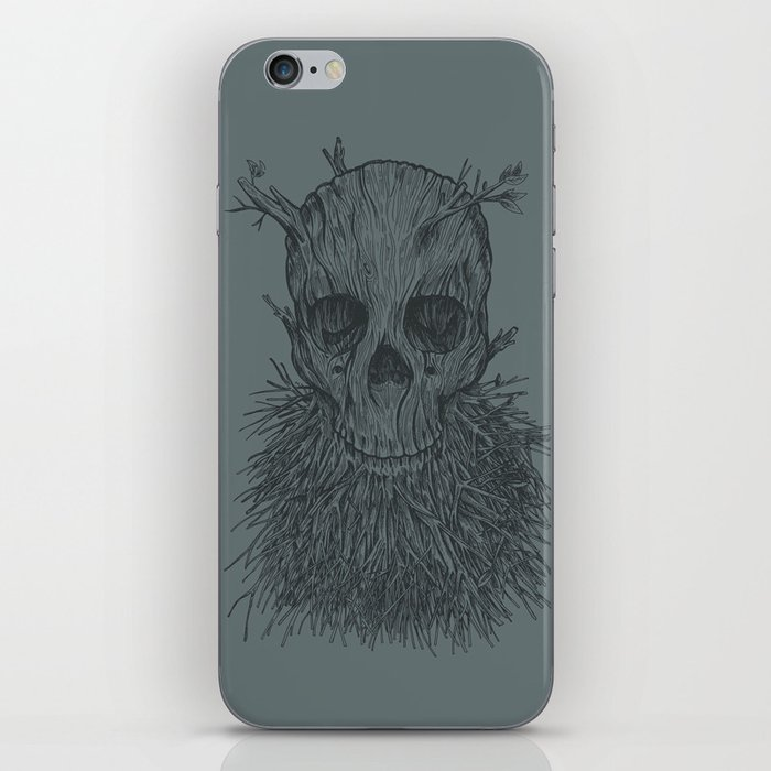 The Lumbermancer (Grey) iPhone Skin