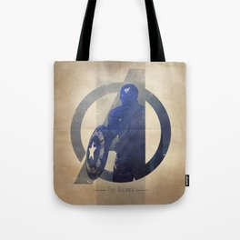 Avengers Assembled: The Soldier Tote Bag
