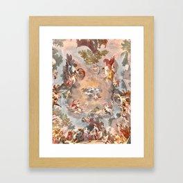 The Royal Palace of Casertas, Caserta Italy Framed Art Print