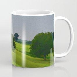Pure Country Red Barn Art Poster Coffee Mug
