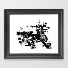Terri-Airship Framed Art Print