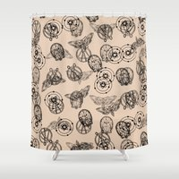 suits Shower Curtains featuring Suits by nijikon