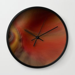 Through A Glass Darkly Wall Clock
