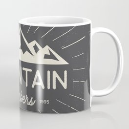 Retro Mountains Coffee Mug